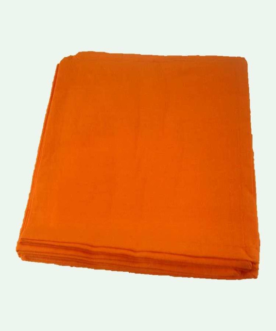6 Serviettes de table Unie Yuco Mandarine