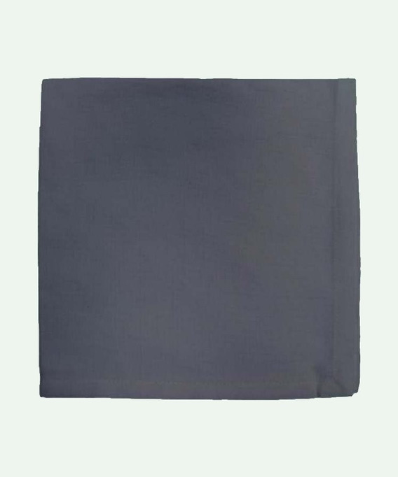 Lot de 6 Serviettes de table 45x45 cm Yuco Ardoise