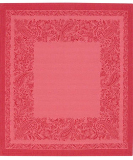 Serviettes de Table Jacquard Trento Corail