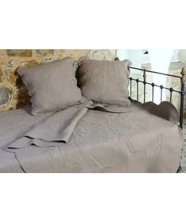 Boutis provençal Grande Taille Byzance Taupe