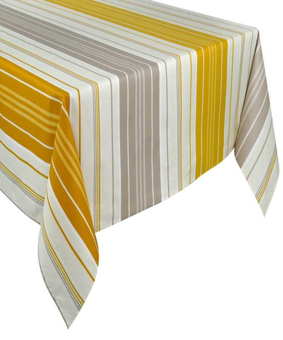 Nappe Rectangulaire Enduite 250cm Capbreton Curry
