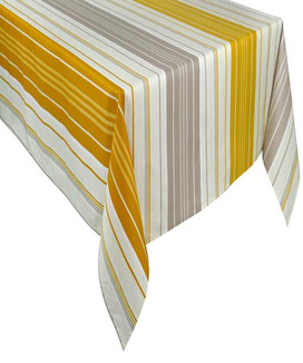 Nappe Rectangulaire Enduite 300 cm Capbreton Curry