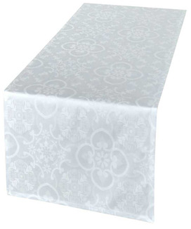 Chemin de Table Jacquard Faro Ecume