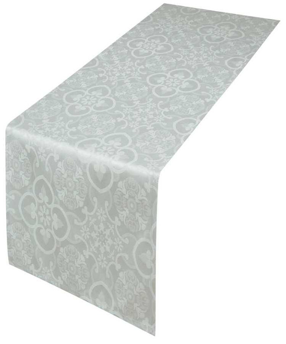 Chemin de Table Jacquard Faro Perle