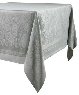 Nappe Rectangulaire Jacquard 300 cm Trento Taupe