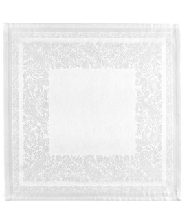 Serviette de table Jacquard Francais Trento Neige