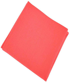 6 Serviettes de table Yuco Cranberry
