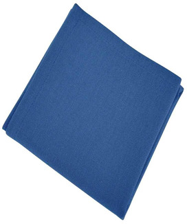 6 Serviettes de table Yuco Indigo