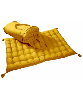 Futon en Coton Traditionnel Japonais Atlas Curry
