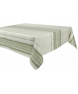 Nappe Rectangulaire anti tache 160x250 cm Atlas Cèdre