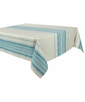 Nappe Rectangulaire anti tache 160x250 cm Atlas Gaie