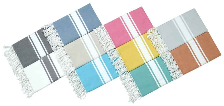 collection Fouta coton de chez Vent Du Sud