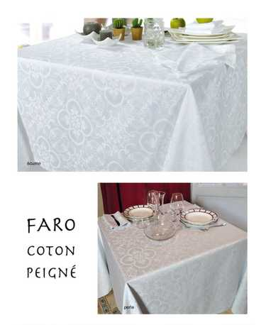 Collection Faro chemin de table en Jacquard Français